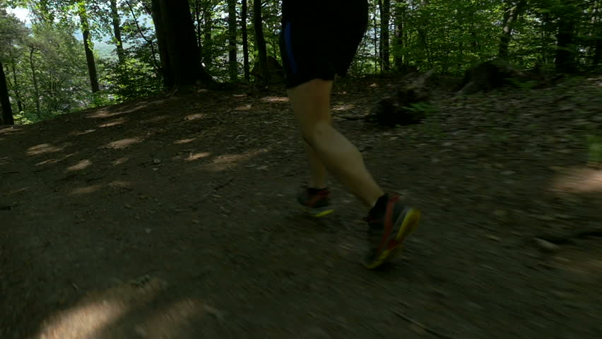 Slow motion - Running in nature #10001024