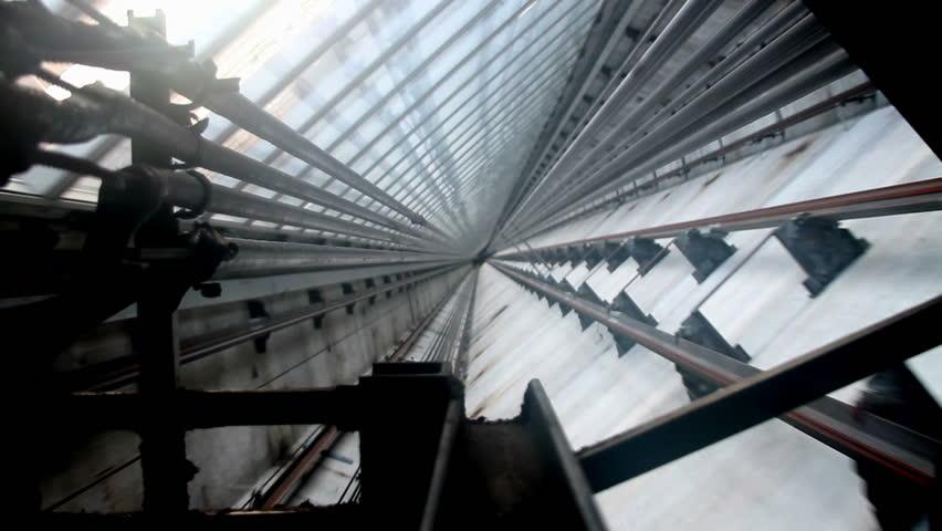 Modern Elevator Shaft series I