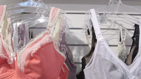 Dolly: Collection of cotton bras for pregnant and nursing mothers in baby and maternity shop