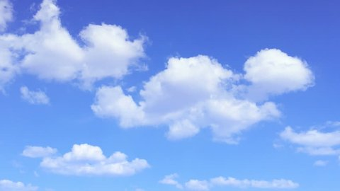 Cloud time lapse Beautiful Blue sky sunny clouds closeup white lightnes cloud Sky Towering Cumulus rolling puffy cloud moving time lapse screen motion background Puffy fluff cloud Loop  background led