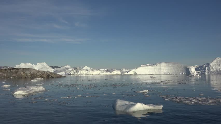 Header of greenland sea