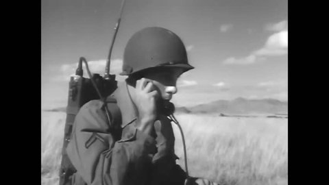 CIRCA 1957\xD1 Paratroopers of the 101st Airborne Division kneel in prayer before a mission.