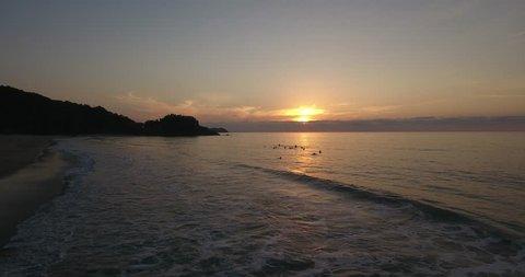 San Pancho Beach Nayarit Mexico