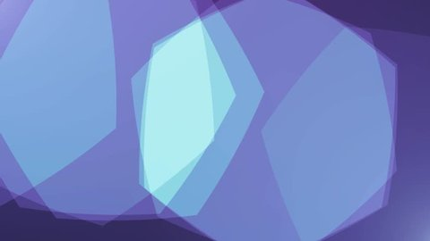 polygon soft pastel blue colors shape abstract background animation New quality retro vintage universal motion dynamic animated colorful joyful dance music video footage loop