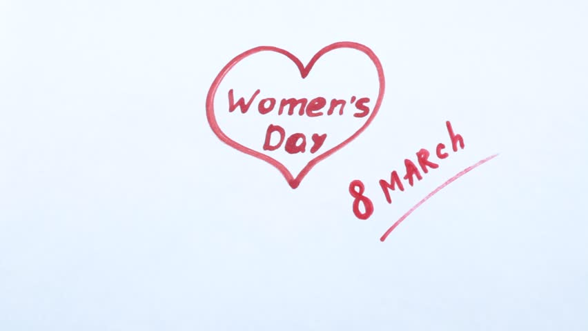Women's Day on March 8 mark | Shutterstock HD Video #1006804834