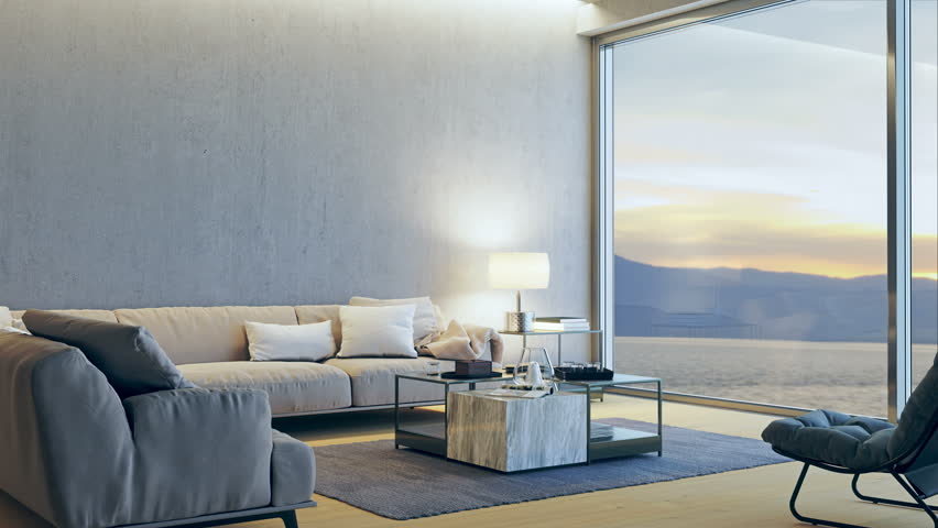 Modern Luxury Living Room.Modern Luxury Living Room With Stock Footage Video 100 Royalty Free 1006906324 Shutterstock