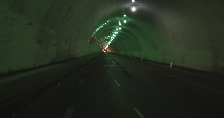 Downtown Los Angeles - Tracking Through The Third Street Tunnel | Shutterstock HD Video #1006910272