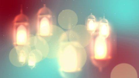 Ramadan candle lantern
