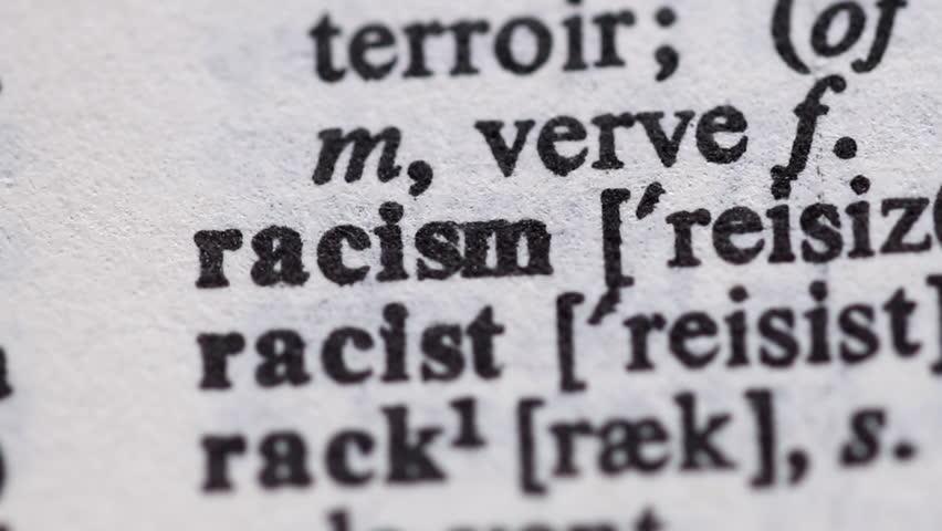 Header of Racist