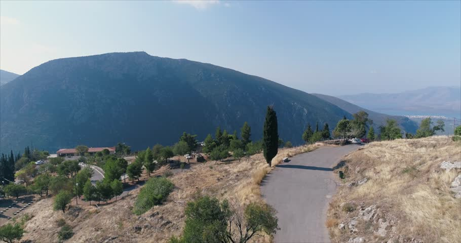 Aerial view on Meteora Greece  | Shutterstock HD Video #1007759074