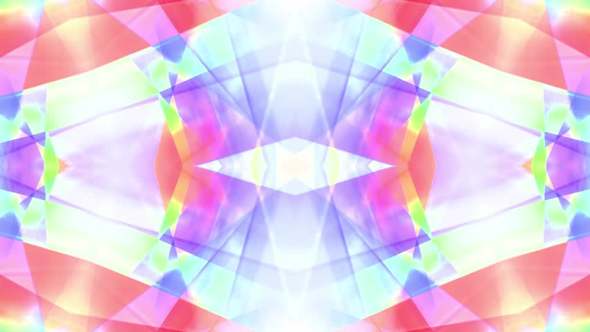 Ornamental kaleidoscope soft crystal abstract animation seamless loop background    Shutterstock HD Video #1007802454