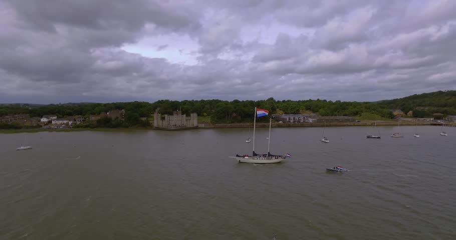 Header of flotilla