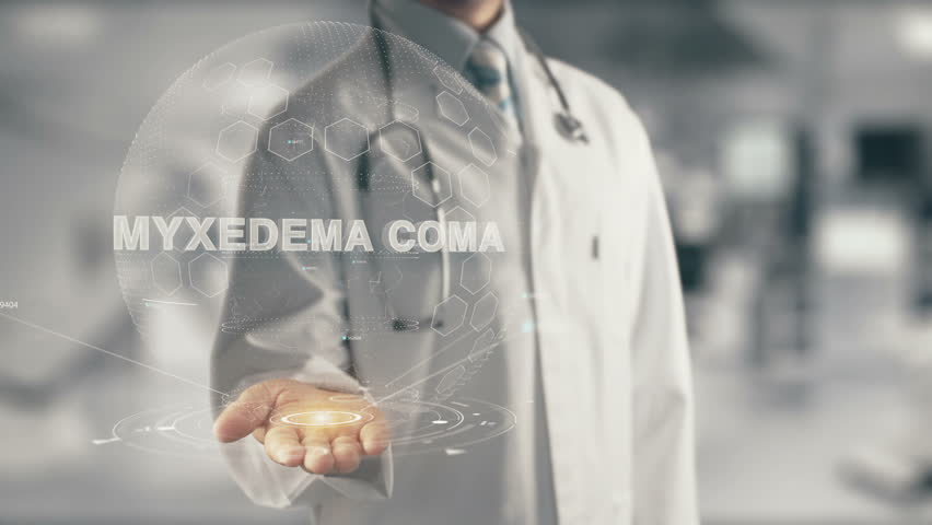 Header of myxedema