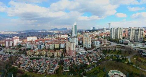 Aerial view Capital Of Turkey Ankara