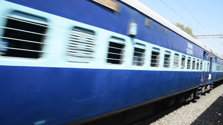 Indian Railways  Passenger Train, By Stock Footage Video (100%  Royalty-free) 1008144844 | Shutterstock