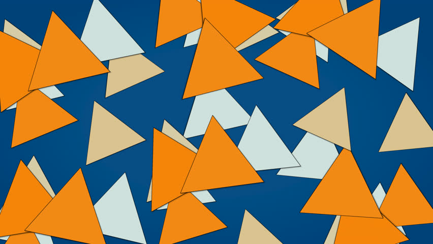 Blue background and moving triangle | Shutterstock HD Video #1008202174