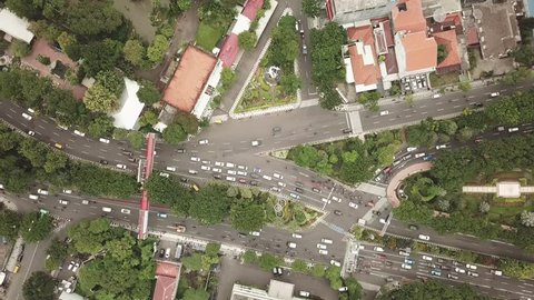 Surabaya city intersection