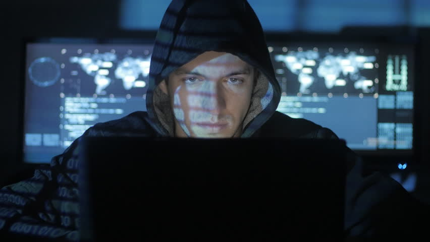 Portrait of tired hacker computer engineer who wants to sleep.   Shutterstock HD Video #1008364954
