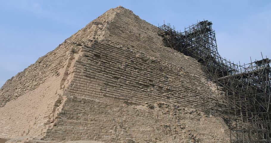 Egyptian Pyramids Time Lapse