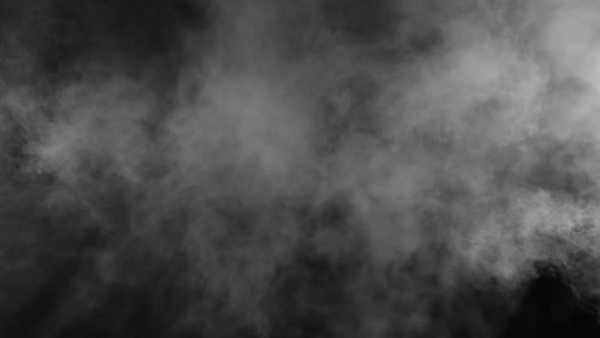 Slow motion of realistic smoke effect on black background | Shutterstock HD Video #1008551314
