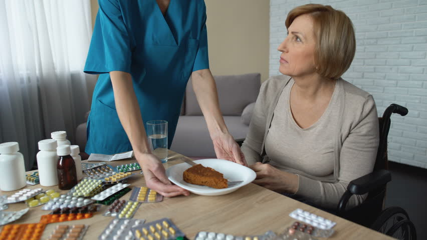 Mature Nurse dishes out the treatment