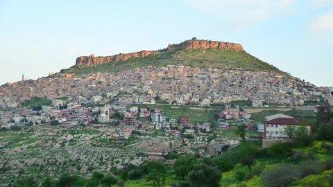 Mardin Historic City, Turkey Time Lapse