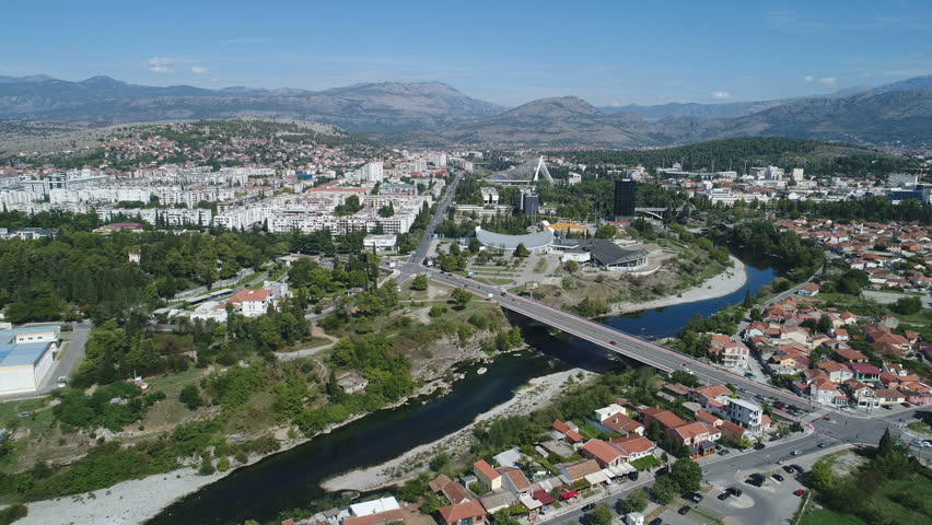 Image result for aerial view of Podgorica montenegro