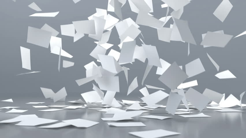 Explosion of paper sheets | Shutterstock HD Video #1008797864