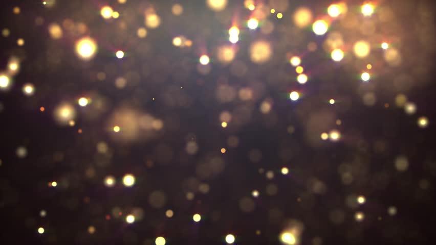 Glitter vintage lights blurry bokeh background