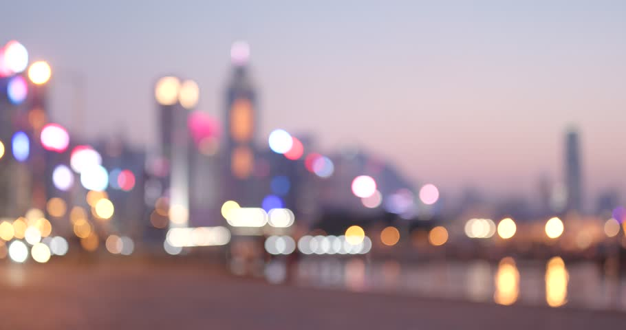 City night in blur | Shutterstock HD Video #1008980954