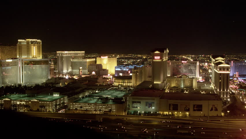 Elevated View of the Las Vegas Strip