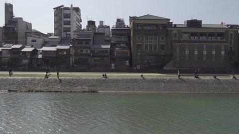 KYOTO KAMOGAWA RIVER SIDE