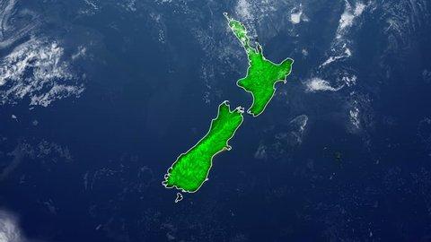 NEW ZEALAND DIGITAL MAP