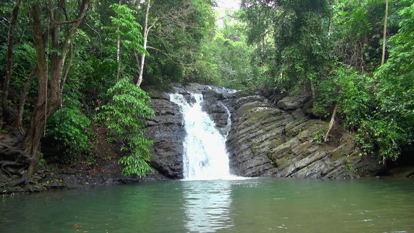Lockdown: Uvita Waterfalls' Fast Flowing Waters
