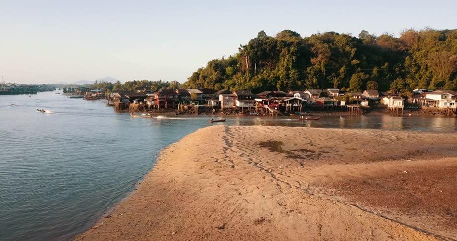 Ranong Fishing Port Thailand