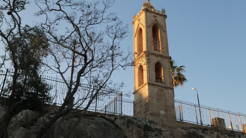 in cyprus the old church and the historical heritage of history