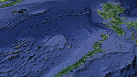 Southwestern Tagalog Region - Animation Map Regions of the Philippines
