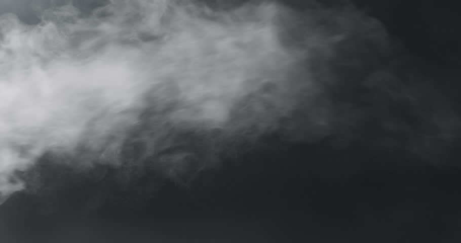 Slow motion vapor steam over black background | Shutterstock HD Video #1010110394