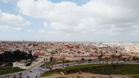Meknes imperial city in Morocco