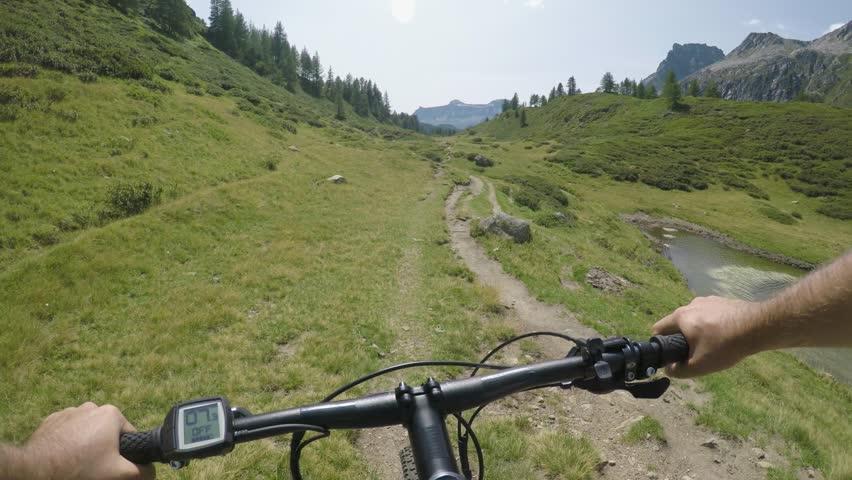 Pov Man Riding E-bike On Stock Footage Video (100% Royalty-free) 1010303684  | Shutterstock