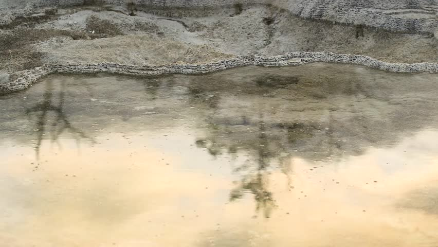 Mammoth Springs in Yellowstone National Park, Wyoming image - Free stock photo - Public Domain ...
