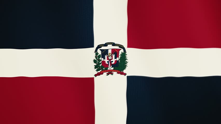 Dominican Republic Flag Footage Page 3 Stock Clips
