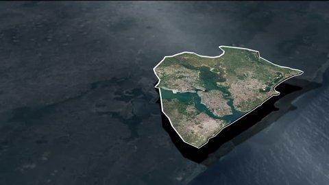 Mombasa - County - Animation Map - Counties of Kenya
