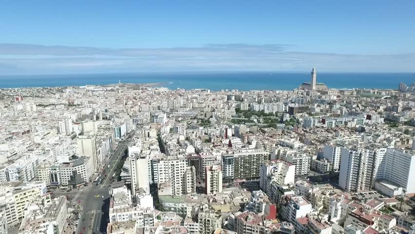 Casablanca 2 Aerial shooting