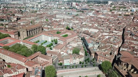 Aerial view, Toulouse France