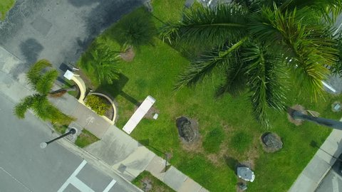 Aerial drone inspection industrial pest fumigation bombing