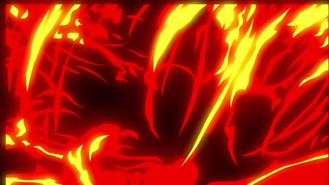 Flame animation.Cartoon flame animation.Flame background and texture