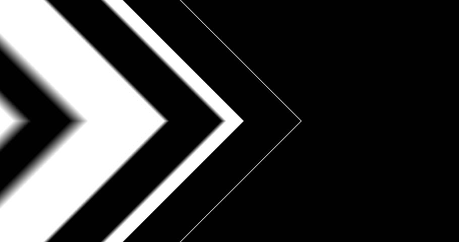 Arrows Background Transition Back And Forth/ Animation of black and white design vertical arrows transition background, with in and out going forward and backward
