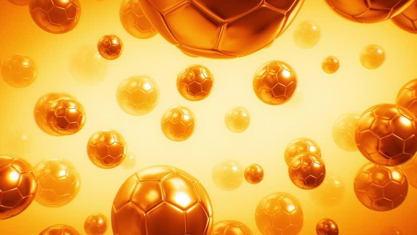 Soccer Ball Background  | Shutterstock HD Video #1011142694