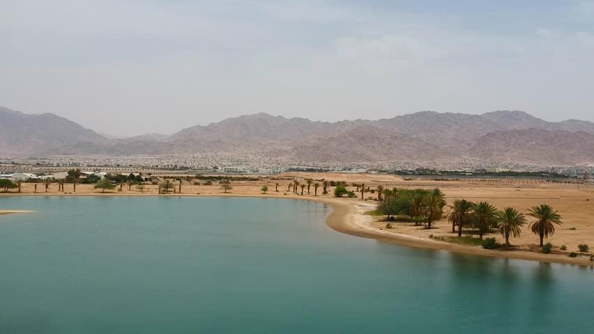 Jordan Mountains desert oasis Aqaba